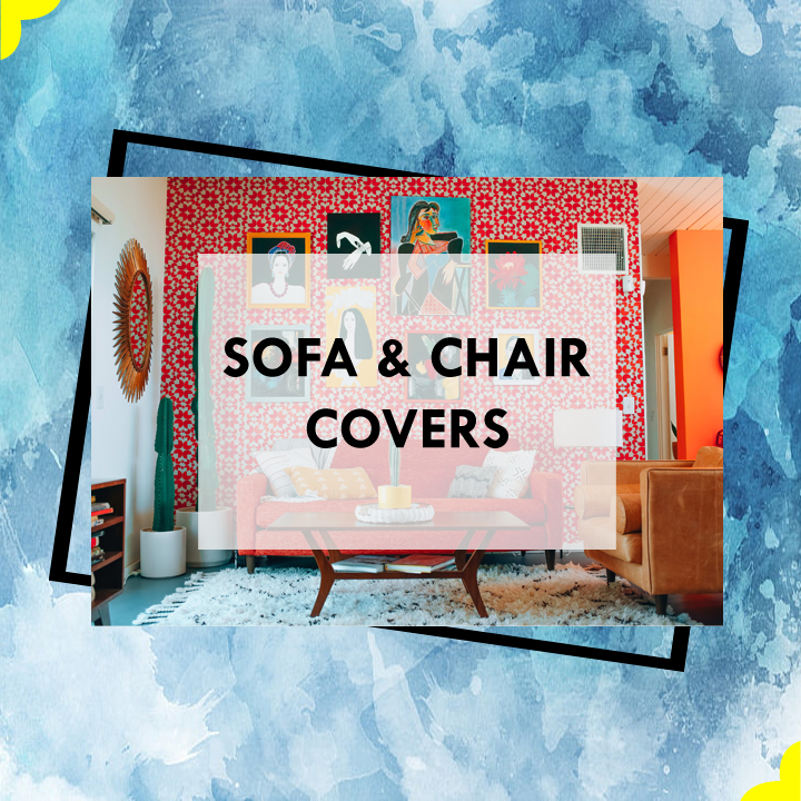 Sofa Cover and Chairs