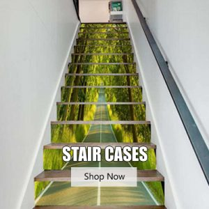 Stair Cases Stickers